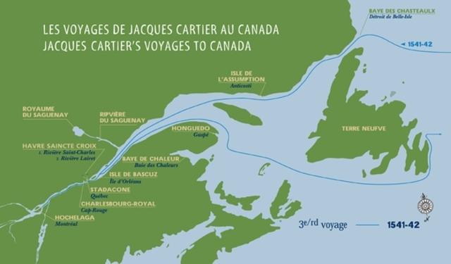 Jacques Cartier's voyages (continued)