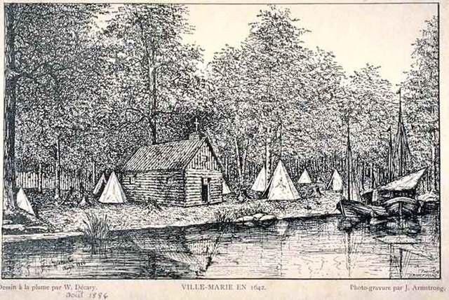 Settlement of Ville-Marie
