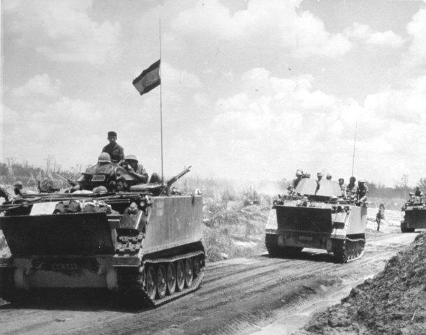 Nixon announces invasion of Cambodia