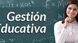 Cronología Gestión Educativa timeline