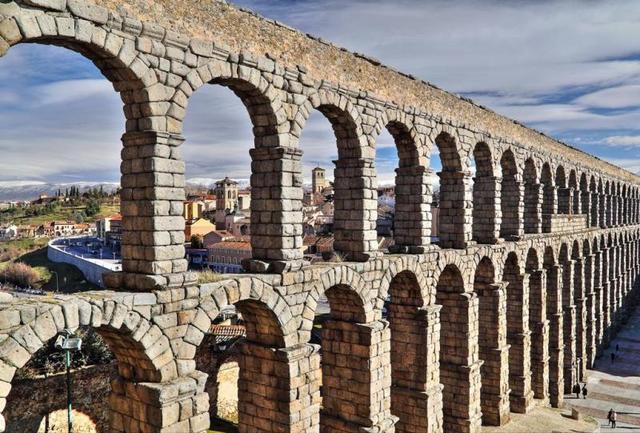 Los Acueductos en Roma