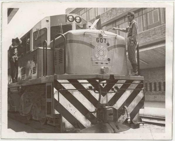 Primer Ferrocarril en Colombia