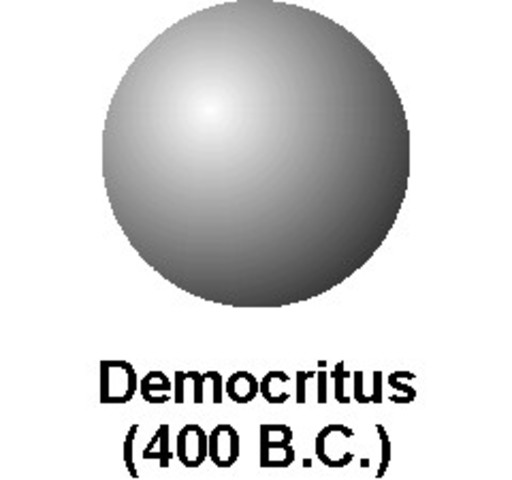 when did democritus contribute to the atomic theory