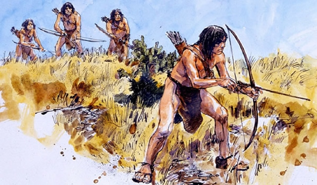 hunting and gathering in foraging societies Hunter-gatherer societies are the most egalitarian societies known since the  group  men hunt while women and children gather roots, leaves, fruits, eggs,  seeds,  foragers depend heavily on the reproductive capacities of their territory  and.