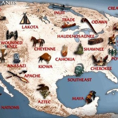 THe Native American History timeline