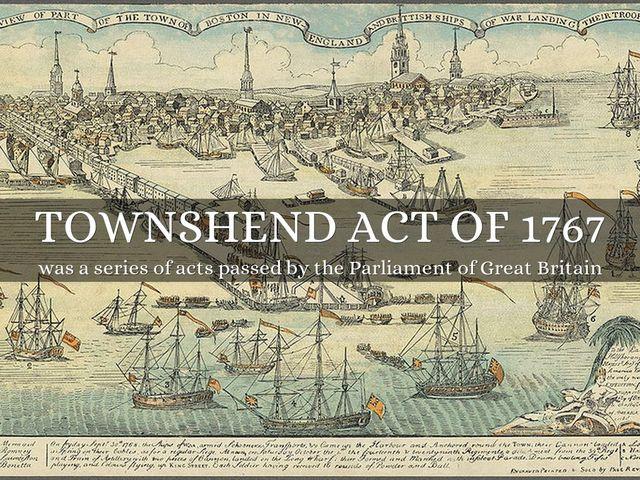 Townshend Duties of 1767