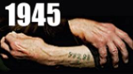 Cronología del Holocausto - 1945 (www.elholocausto.net) timeline