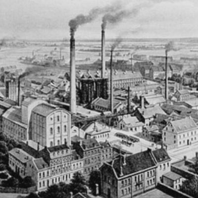 Industrialiseringen timeline