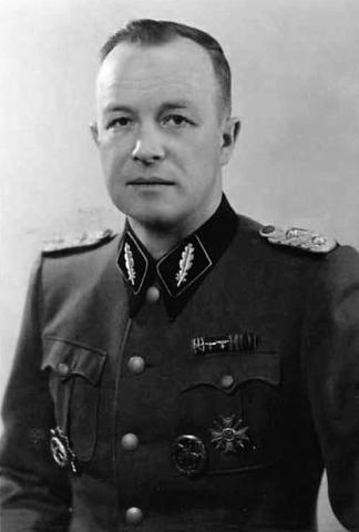 Nombramiento de Franz Ziereis como comandante del campo de concentración de Mauthausen (Austria)