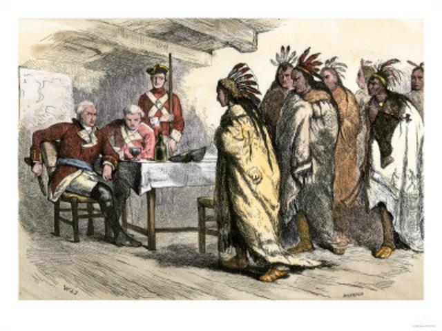 The Aboriginal Population circa 1760