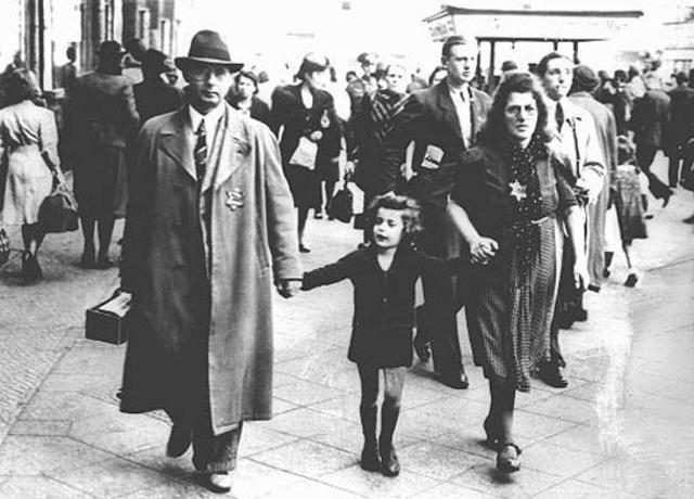 """La """"estrella judía"""" se introduce para los judíos de los estados bálticos."""