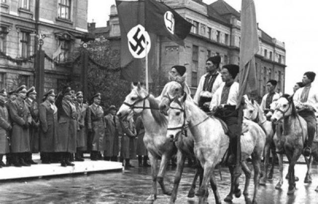 El ejército alemán conquista la ciudad rusa de Kiev en Ucrania.