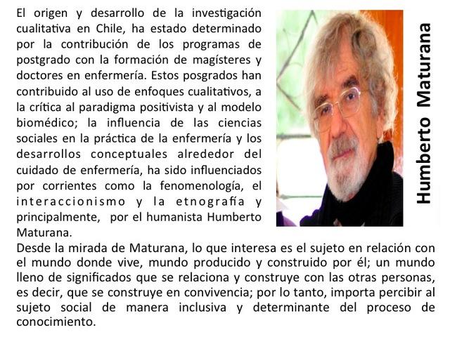 Humberto Maturana: Biólogo e investigador chileno
