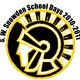 Trojan logo school days
