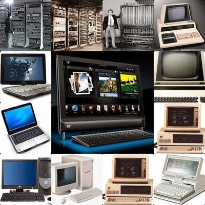 Las Generaciones de las Computadoras y su Contexto timeline