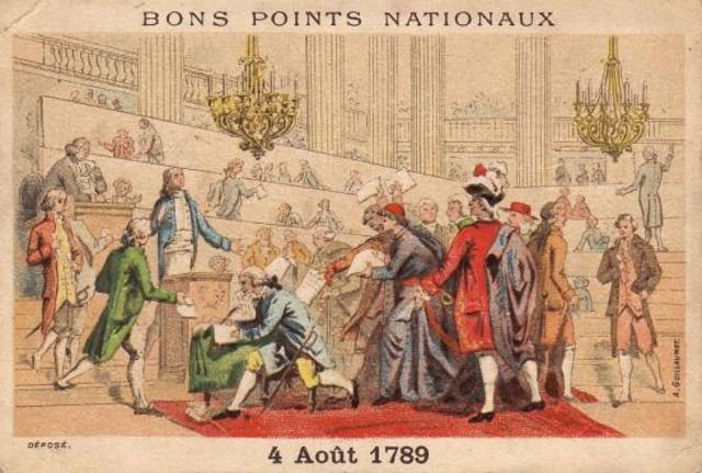 National Assembly Abolishes Nobility and Noble Titles in France