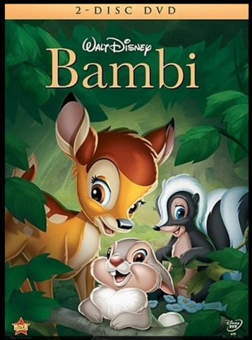 Bambi was released.
