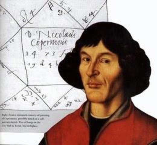 In the middle ages (Copernicus)