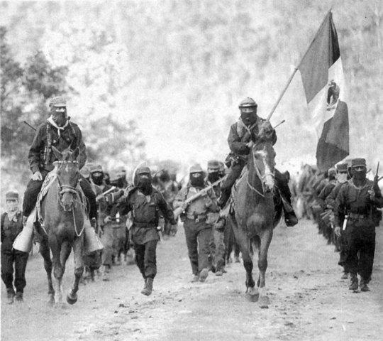 APARICION EN PUBLICO DE EZLN