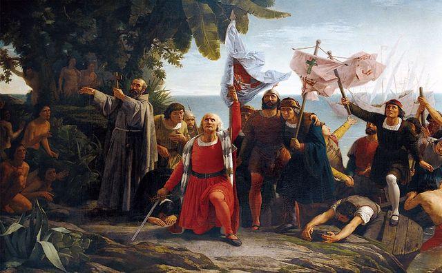 Cristobal Colon llega a America