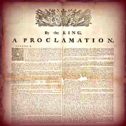 royal proclamation of 1763 impact Get this from a library keeping promises : the royal proclamation of 1763, aboriginal rights, and treaties in canada [jim aldridge terry fenge] -- in 1763 king george iii of great britain, victorious in the seven years war with the france, issued a proclamation to organize the governance of territory newly acquired by the crown in.