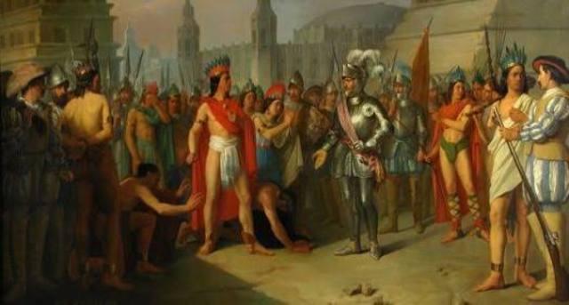 Llegada a Tenochtitlan