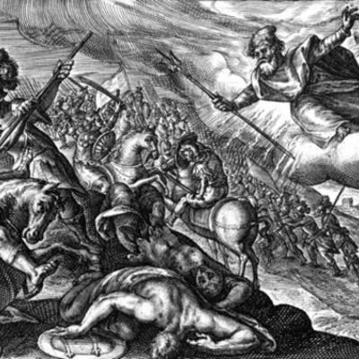 Iliad Chapter 13 timeline