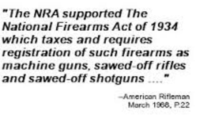 National Firearms Act of 1938