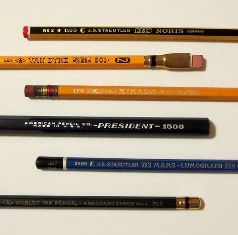 The First Yellow Pencil