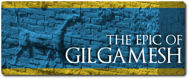 The Epic of Gilgamesh is written