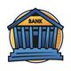 Banco. ilustración