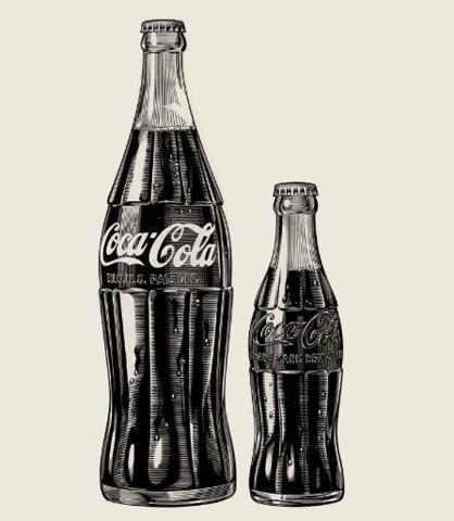 1957 coke bottle