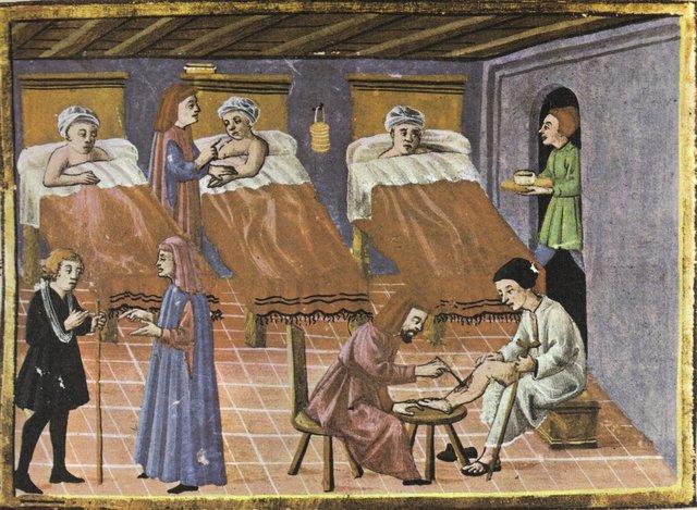 Etapa vocacional de la Enfermería  (Alta Edad Media)