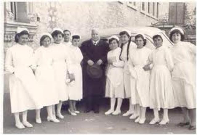 Etapa Vocacional  de la Enfermería  (Edad Moderna)