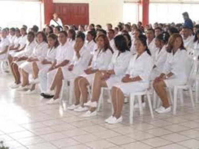 Inicio de profesionalizasión del cuidado