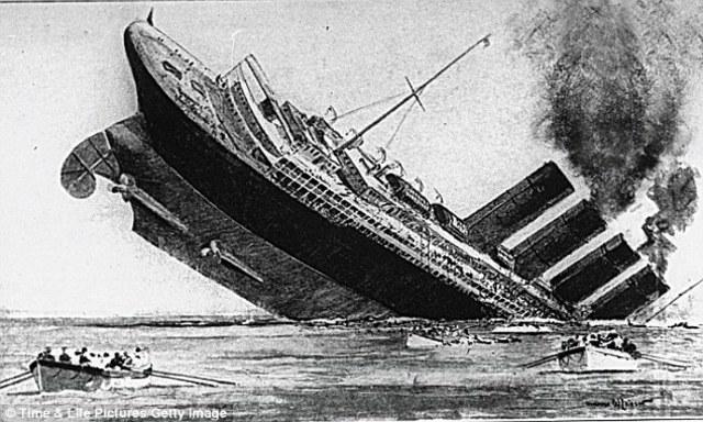 Lusitania sank