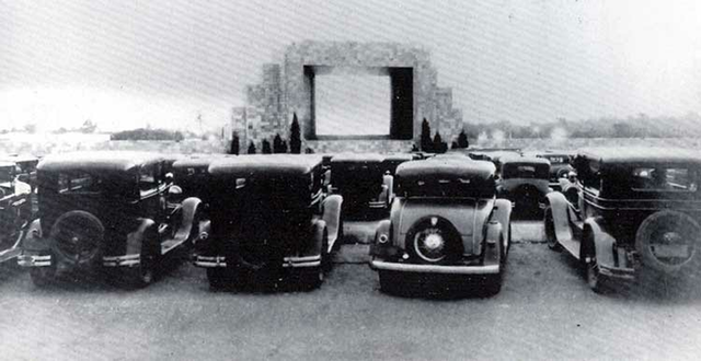 First Drive In Theater