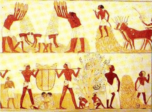LA EDAD ANTIGUA. El pueblo de Egipto.