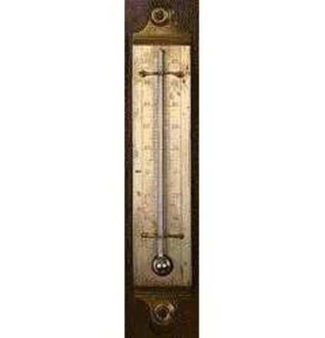First Mercury Thermometer