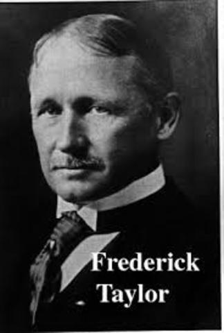1911 - Frederick W. Tylor