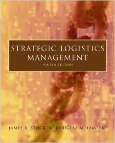 2001 - Stock y Lambert, cadena de suministro.