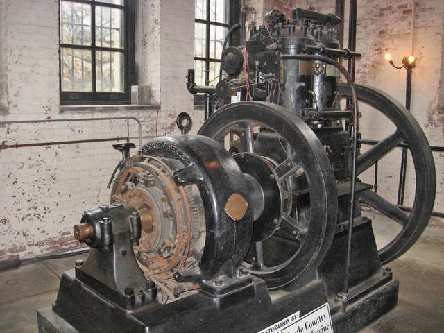 first electric generator. thomas edison built the first electric generator