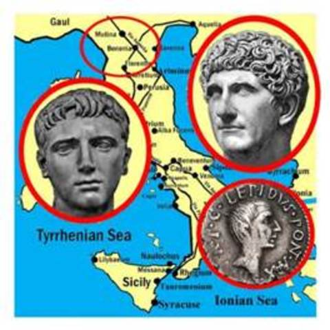 2nd Triumvirate Formed