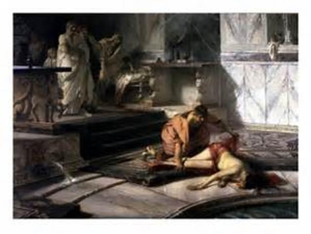 Nero kills his Mother