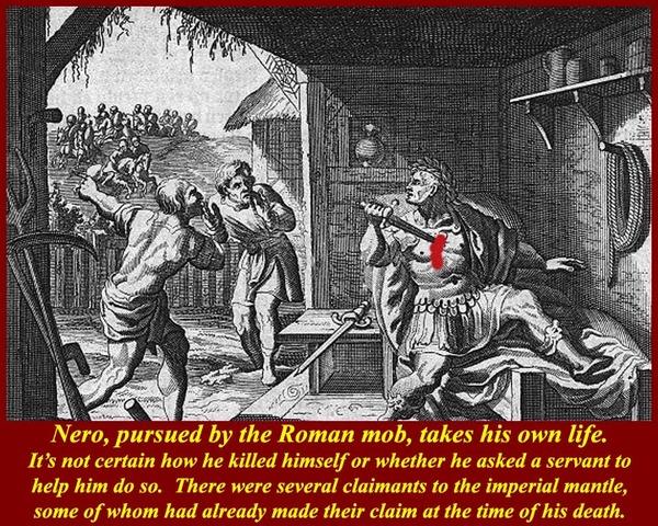 Nero is Overthrown