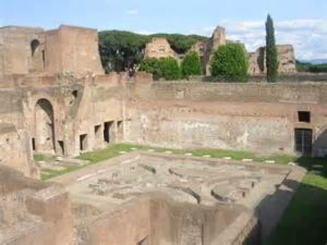 Nero's Palace Destroyed