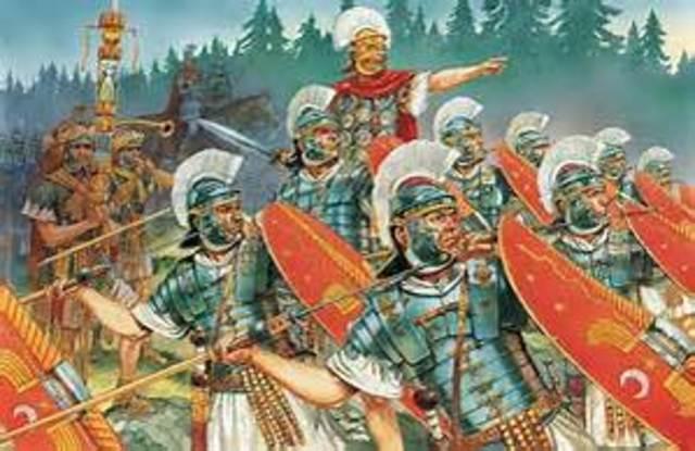 Trajan conquers Dacia