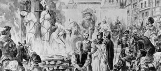 Llega Don Pedro Moya y la Santa Inquisición