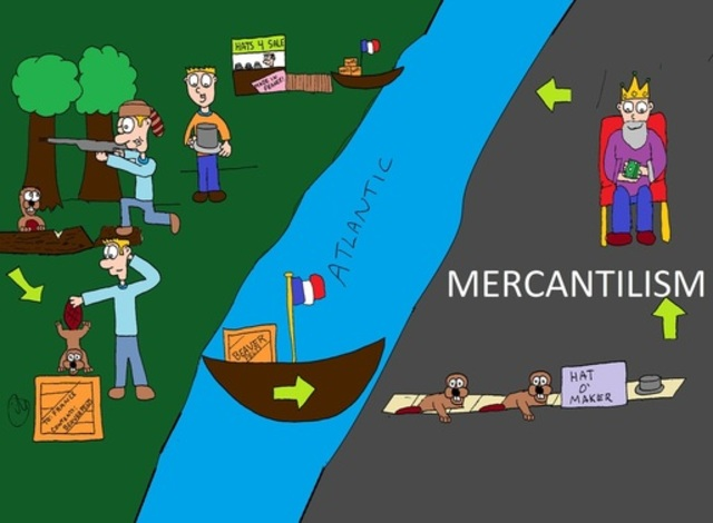 mercantilism poaching natural resources of underdeveloped Depressions resulting in part from laissez faire capitalism and mercantilism led to many rich natural resources deregulation or protectionism.