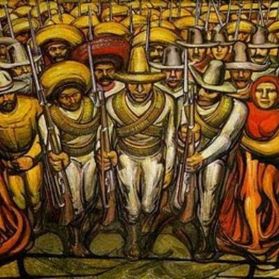 Revolución mexicana. timeline